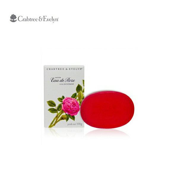Crabtree&Evelyn 瑰珀翠 薔薇花甘油香皂 100g一入裝