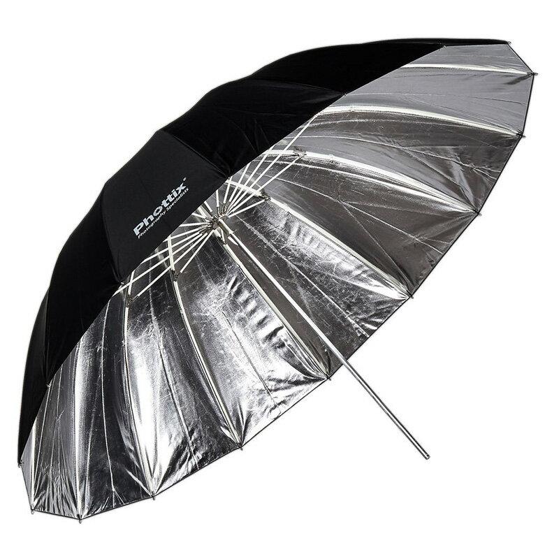 ~相機 ~ Phottix 反射式 反光傘 玻璃纖維骨架 外黑內銀傘 152cm 60