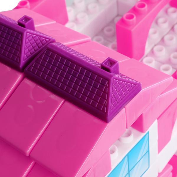 Kid Plastic Building Block Set Preschool Children Playing Toys 4