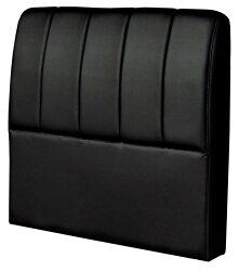 【尚品傢俱】HY-A215-05 安娜黑色皮3.5尺床頭片(台灣製造)