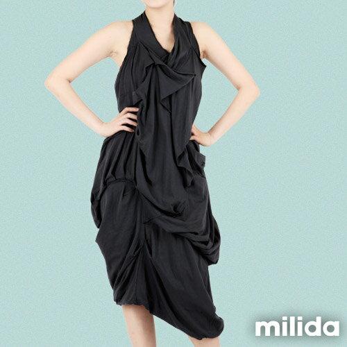 【Milida,全店七折免運】-春夏商品-無袖款-露背小禮服 6