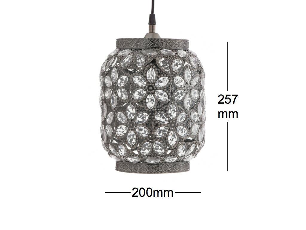 青古銅花瓣紋吊燈-BNL00071 6