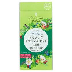 日本7-11限定 x 芳珂Botanical Force 草本系列/ 護膚一日份試用組合 -日本必買 日本樂天代購(378)
