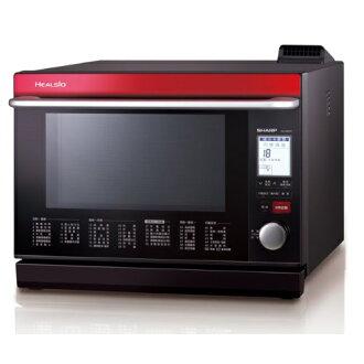 SHARP 夏普 AX-WP5T / AX-WP5T(R) HEALSIO水波爐(番茄紅) (31L) ~日本製~ ※熱線07-7428010