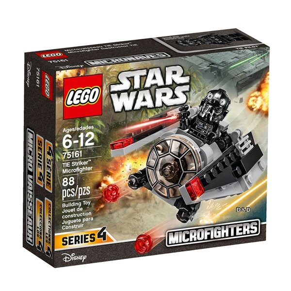 樂高積木LEGO《 LT75161》STAR WARS 星際大戰系列 -TIE Striker™ Microfighter