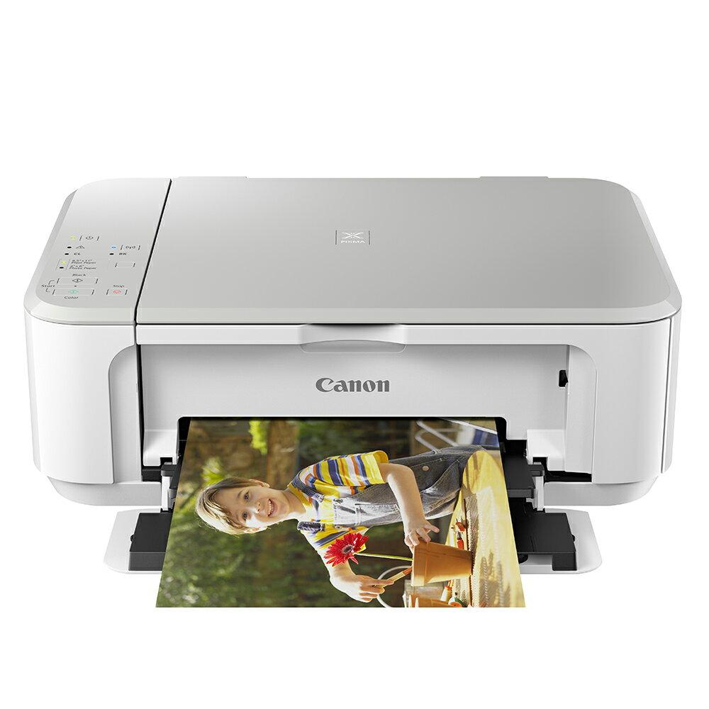 Canon PIXMA MG3670 無線雙面多 複合機 白色