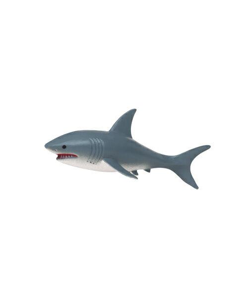 【美國B.Toys感統玩具】Terra 海洋世界-大白鯊【紫貝殼】