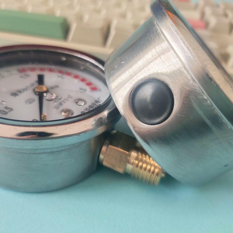 爆米花機專用壓力表大炮防震油表青島華偉充油壓力表炸米花機配件 艾琴海小屋