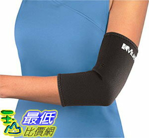 [106美國直購] Mueller Elbow 肘套 Sleeve, Neoprene, Black, Large