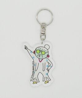 做你的白日夢特展軋型鑰匙圈-鬼門圖文精選插畫款