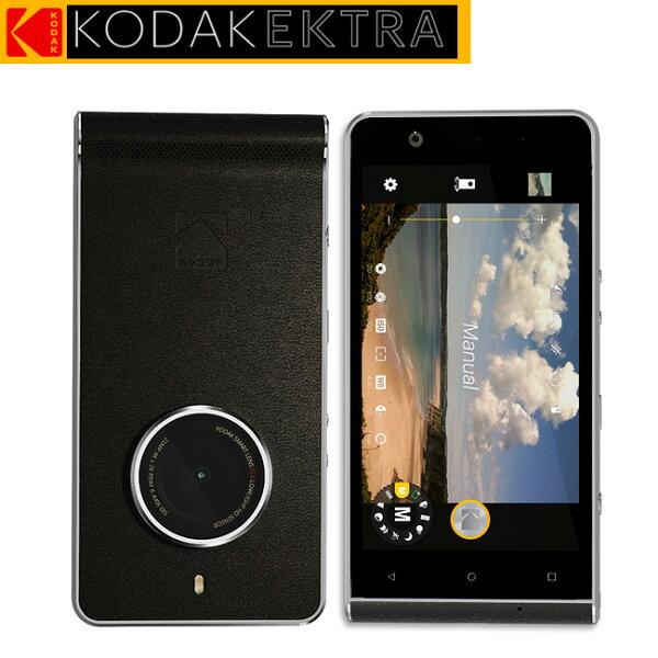 KODAKEKTRA專屬Super8專業後製軟體配備2100萬鏡頭專業相機手機◆送專屬原廠吊掛式皮套
