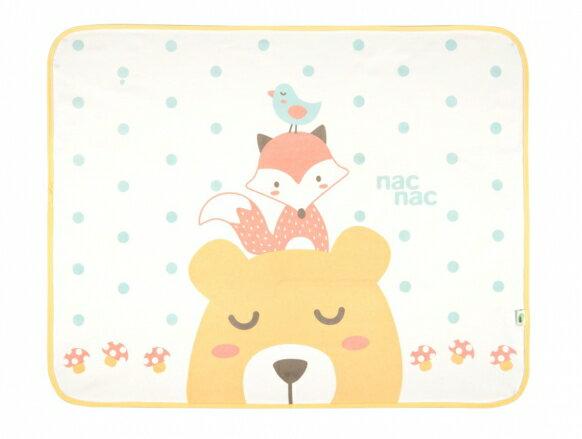 寶貝俏媽咪婦嬰用品館 【Nac Nac 】超薄防水尿布墊 (北歐刺蝟/ 森林麻吉)