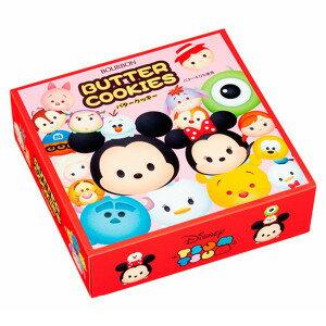 【Bourbon北日本】日本Disney迪士尼 TSUM TSUM奶油餅乾禮盒 (297g) ディズニーツムツム バタークッキー缶 ブルボン