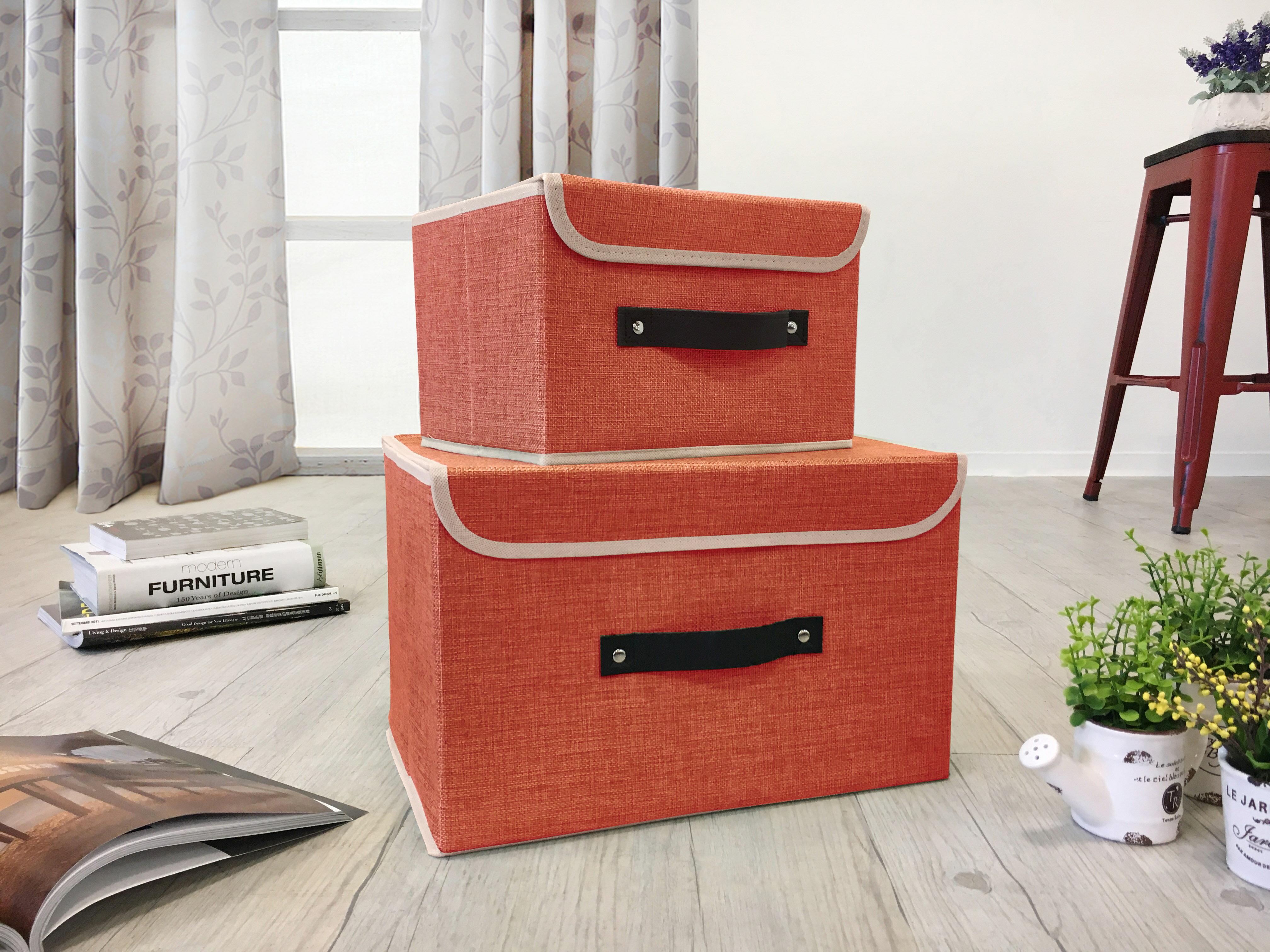 簡約 手提 收納箱 儲物箱 整理箱 玩具儲物箱 雜物收納 四色《卡拉》非 H  D ikea 宜家 !新 ! 樂天雙12