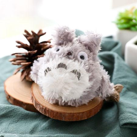 龍貓造型珠鍊娃娃 吊飾 鑰匙圈 豆豆龍 Totoro 宮崎駿 吉卜力 龍貓 娃娃【B063126】