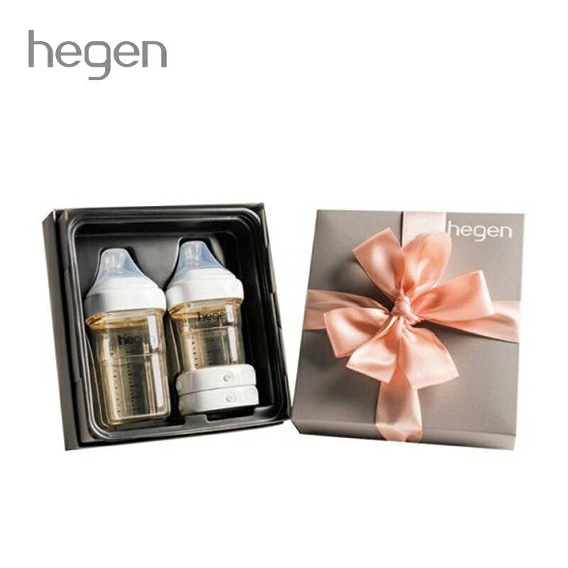 贈原廠紙袋【Hegen】祝賀新生經典奶瓶安心禮 新生禮盒 小金奶瓶-米菲寶貝 1