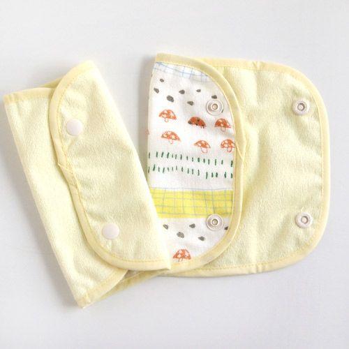 Hoppetta - 蘑菇森林揹巾口水巾 (暗釦款) 6