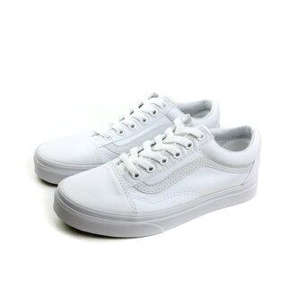 VANS 布鞋 白色 男女鞋 no368
