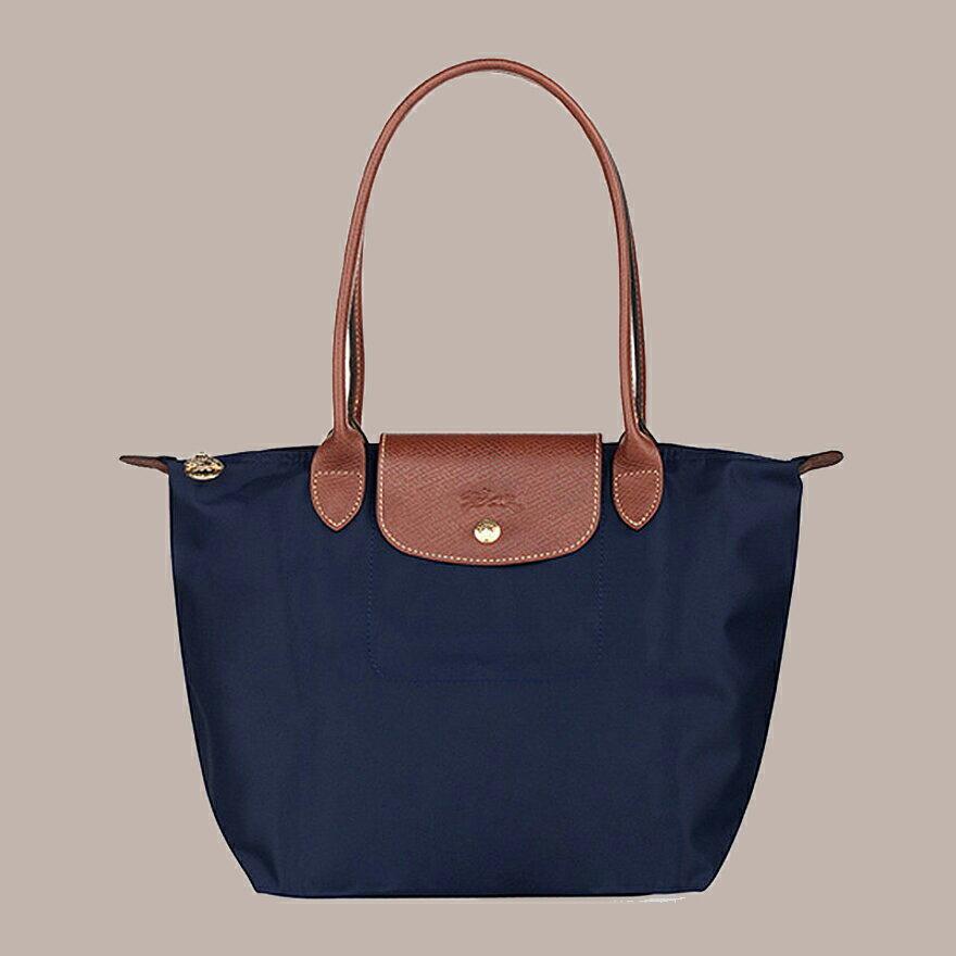 (Smile) LONGCHAMP 2605 新款女性包時尚潮流可折疊水餃包中號長柄餃子包