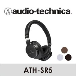 Audio-Technica 鐵三角   便攜型耳罩式耳機   ATH-SR5