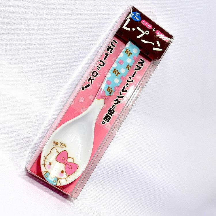 Hello Kitty 加長 湯匙 好舀的設計 日本正版品