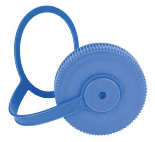 【鄉野情戶外用品店】Nalgene |美國| 63mm寬口水瓶專用蓋-藍色/適用於1000cc 寬口水壺/2180-0004