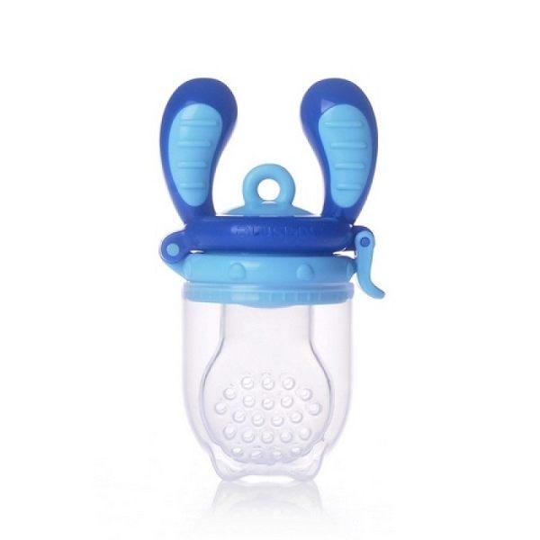 Kidsme-咬咬樂咀嚼輔食器大藍紫紅『121婦嬰用品館』