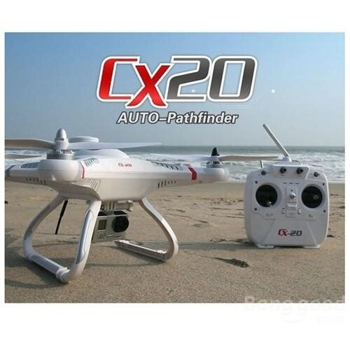 Microgear 2.4 GHz. CX20 Auto-Pathfinder FPV RC Quadcopter With GPS RTF 1