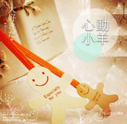 心動小羊^^可愛薑餅人封口鐵絲,綁糖果袋、束口袋(10入)