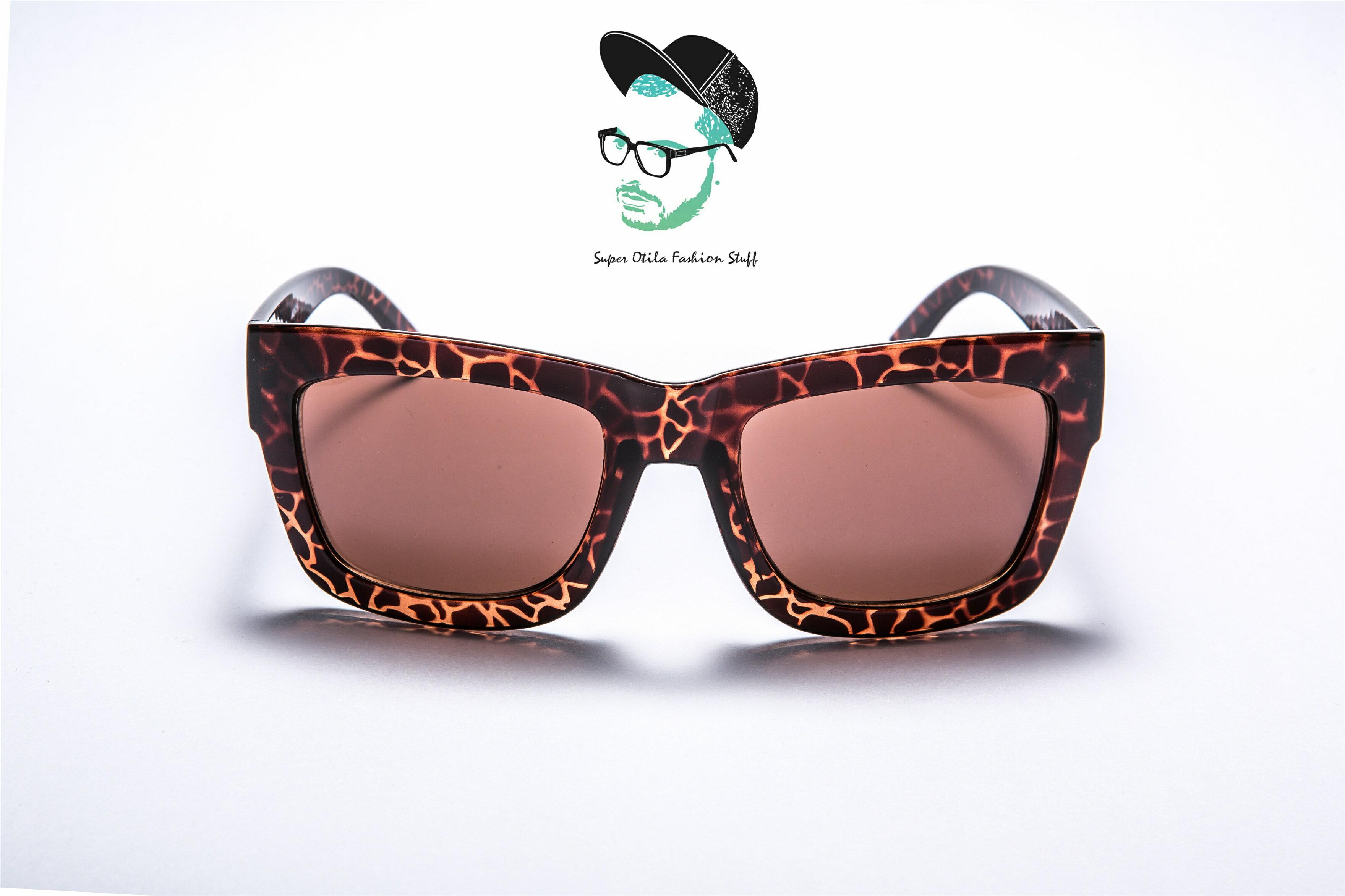 glasses for lovers 太陽眼鏡 墨鏡 眼鏡  韓國 【2033】簡約風-加大-墨鏡