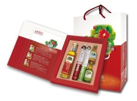 鏡感樂活市集:金椿茶油工坊茶油麵線禮盒年節限定再贈綜合蔬果飲兩瓶