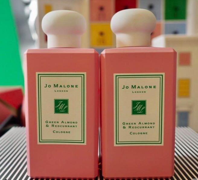 JO MALONE聖誕超限量綠杏仁與紅醋栗香水100ml /苦橙古龍水 / 馬卡龍香皂 /聖誕禮炮 拉砲