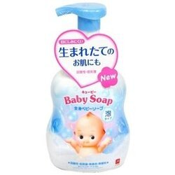 日本製 COW 牛乳石鹼 嬰兒全身泡泡沐浴乳 400ml