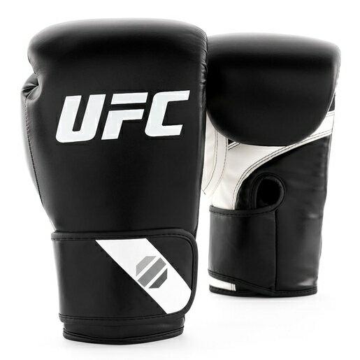UFC PRO-健身訓練拳擊手套-黑-12oz