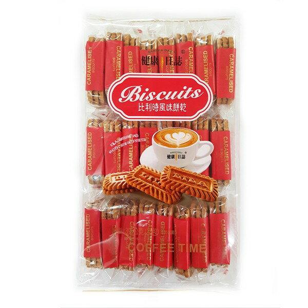 (馬來西亞零食)健康日誌比利時風味餅乾-焦糖口味 1包396公克【4711402829354】