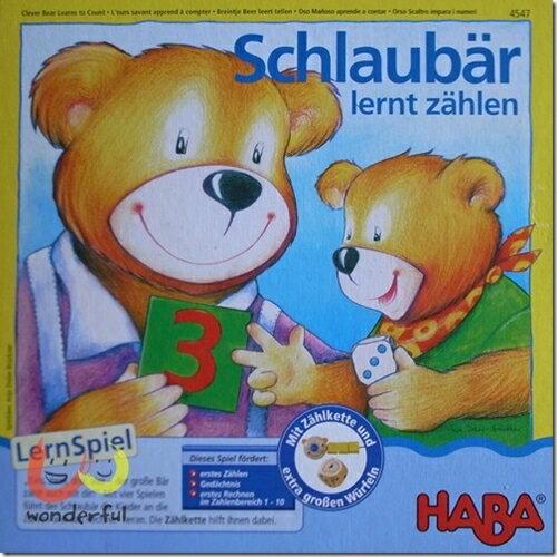 【桌上遊戲】HABA 數數熊學習型桌戲