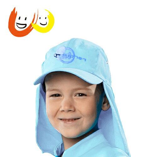 hyphen 防曬UPF80護頸帽粉藍50/52