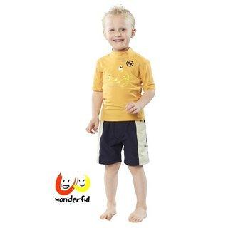 hyphen 防曬UPF80熱情螃蟹短袖上衣80/86