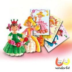 Playmais 玩玉米創意黏土主題禮盒-漂亮公主