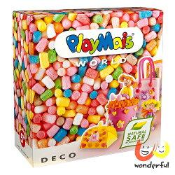 Playmais 玩玉米創意黏土主題禮盒-粉彩裝飾