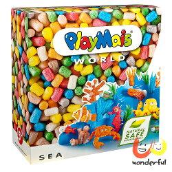 Playmais 玩玉米創意黏土主題禮盒-海底世界