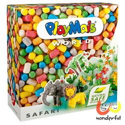 Playmais 玩玉米創意黏土主題禮盒-非洲草原