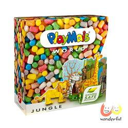 Playmais 玩玉米創意黏土主題禮盒-動物叢林