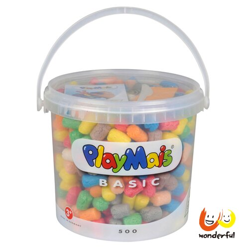 Playmais 玩玉米創意黏土隨身桶