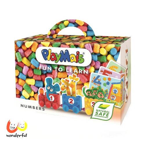 Playmais 玩玉米 黏土趣味學習盒~數字