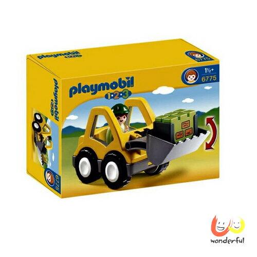 【免運】Playmobil 123挖土機