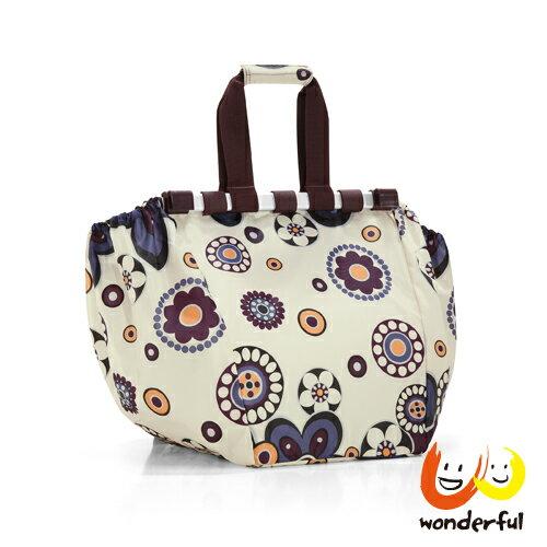 <br/><br/>  reisenthel 菜籃用收納購物袋-紫花<br/><br/>
