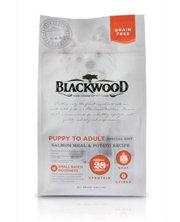 WDJ推薦 Blackwood 柏萊富天然寵糧 無穀全齡 低敏挑嘴配方(鮭魚+豌豆) 1LB/1磅