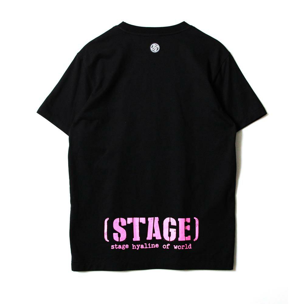 STAGE SNIPER SS TEE 黑色/粉紅色 兩色 7