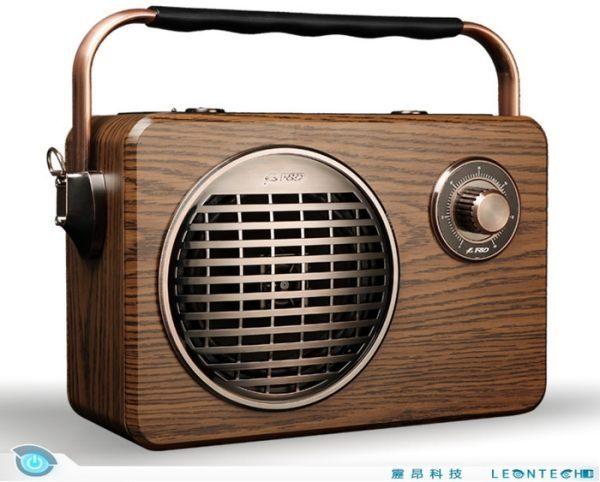 【限時93折起】奮達 F&D R9 復古收音機 手提 藍牙音箱 音響 重低音